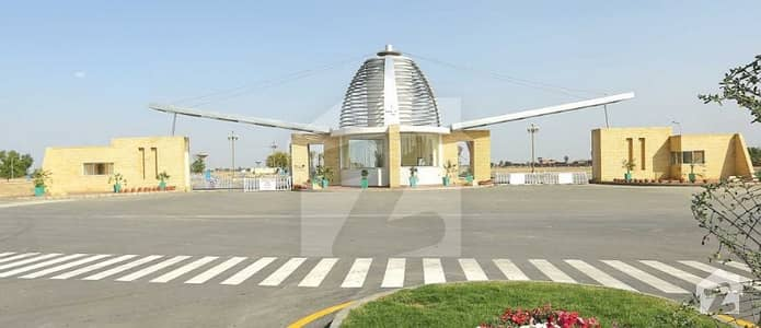 Hot Location 8 Marla Plot For Sale 80 Feet Road Block D Bahria Orchard Lahore