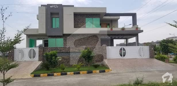 60x90 Main Double Road Corner Triple Story House Available Very Ideal Location