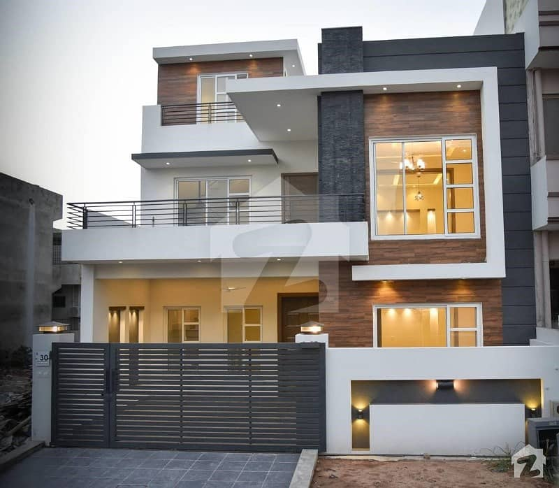 Double Storey 7 Marla House For Sale On 2 Years Of Easy Installments In Gulberg Greens Islamabad Gulberg Residencia Islamabad