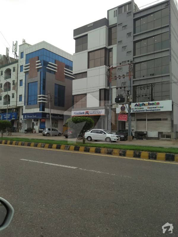 Main Ittehad Building For Sale Near Village Resturant Ideal Location