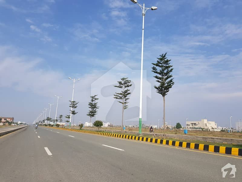 Dha Phase 7 Cca 5 Commercial 4 Marla Commercial Corner Plot For Sale
