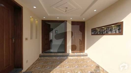 5 Marla Brand New House Is Available For Sale In BB Block