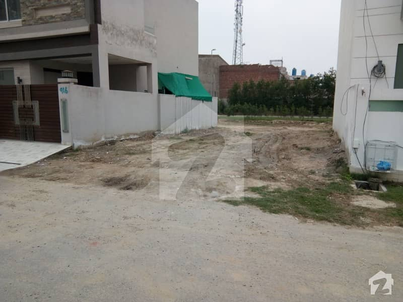 7 Marla Plot Available At Fine Location Easy Access To 120 Feet Wide Road
