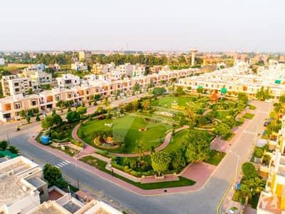 5 Marla Facing Park Developed Plot For Sale In Dream Garden
