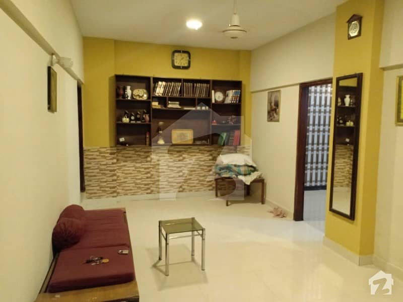 2 Bedrooms Flat For Sale At Main Tariq Road Excellent Location