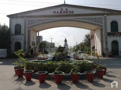 6 Marla Residential Plot File Is Available In SA Garden Phase 2 Lahore Punjab