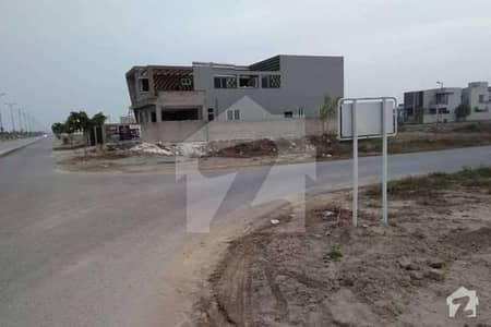 Dha Phase 6 D Block 7 Marla Prime Location Plot For Sale
