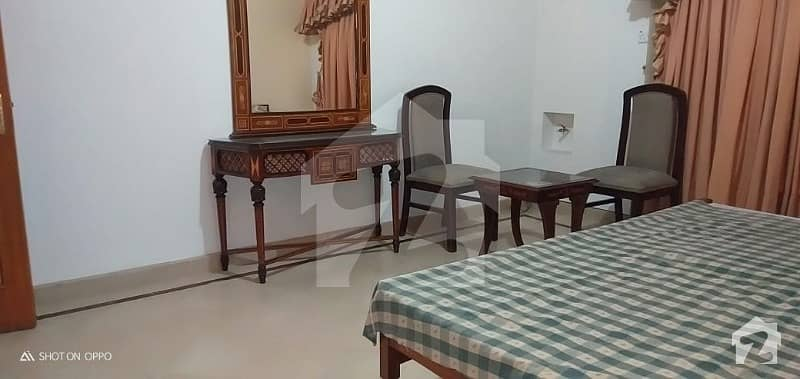 Fully Furnished Lower Portion With Basement Hall For Rent In Dha Phase 4