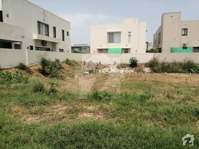 1 Kanal Plot For Sale In Phase 6 B Block Dha Lahore Cantt