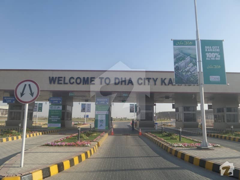 500 Square Yards Residential Plot Available For Sale In DHA City Karachi