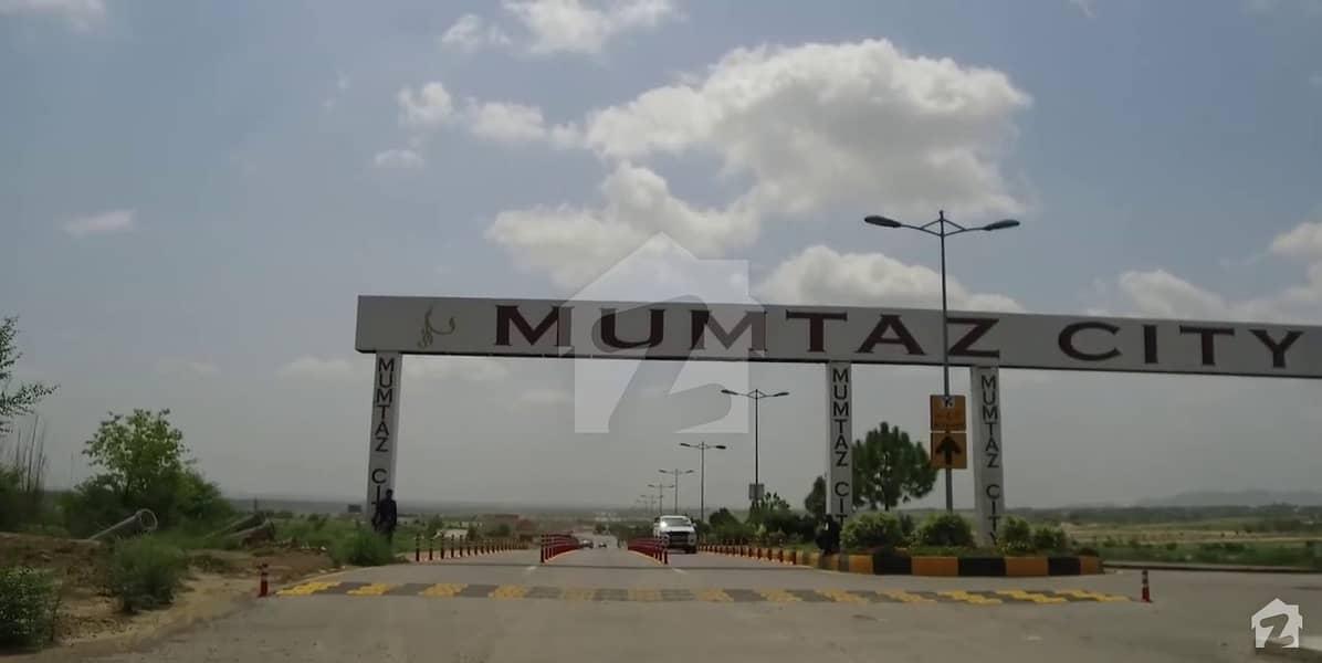 Mumtaz City Block Chenab 8 Marla Plot For Sale In  Mumtaz City Near Main Park