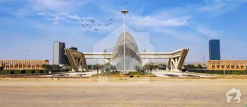 Perfect 250 Square Yards Residential Plot In Bahria Town Karachi For Sale