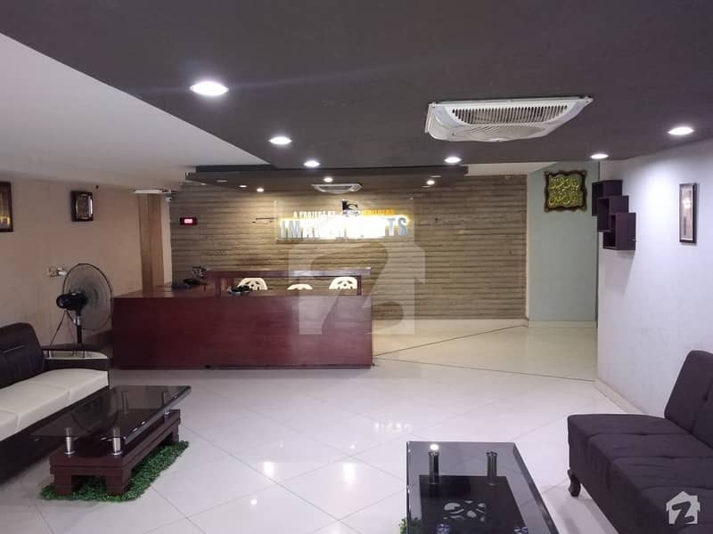 2 Bed Drawing Dinning Flat Is Available For Sale At Khalid Bin Waleed Road