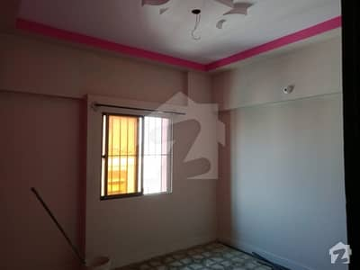 2 bed drawing dining well maintained flat for rent nazimabad near to main road  with car parking