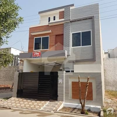 Brand New  Corner Double Storey House 4 Marla 1.5 Sarsai(24x47) For Sale in Jeewan City Housing Scheme Is Available