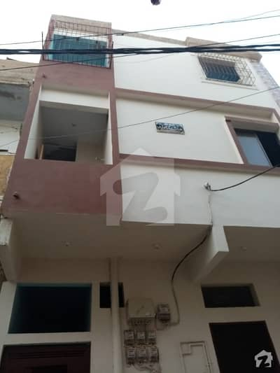 Ground Portion 120 Sq Yard For Sale In Azizabad 8 No