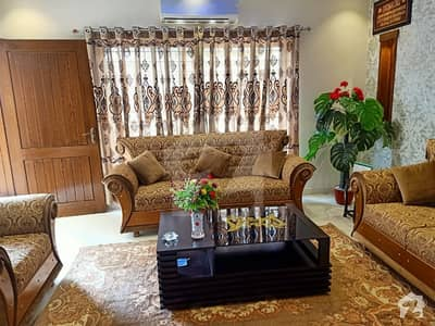 10 Marla Fully Furnished House For Rent In Sector C Bahria Town